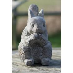Stone Squirrel Ornament - Small