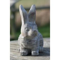 Stone Rabbit Ornament
