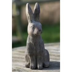 Stone Hare Ornament - Small