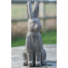 Stone Hare Ornament - Medium