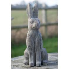 Stone Hare Ornament - Large