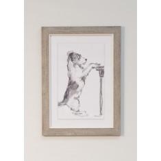 Paw Prints- Framed Print
