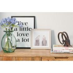Live A Little - Framed Poster