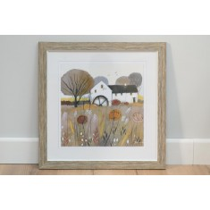 The Wheatsheaf - Framed Print