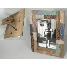 Reclaimed Patchwork Picture Frame