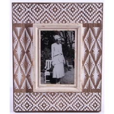 Lace Print Inspired Picture Frame