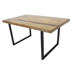 Imari Industrial Mango Dining Table