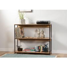 Imari Industrial Mango Low Bookshelf