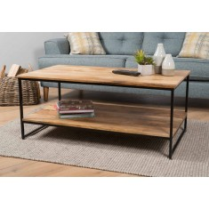 Imari Industrial Mango Open Coffee Table