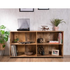 Imari Industrial Mango Wide Modular Shelving Unit