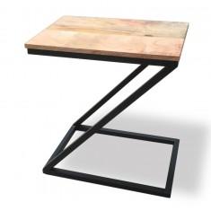Imari Industrial Light Mango Z End Table