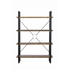 Brooklyn Industrial Tall Bookcase