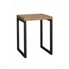 Brooklyn Industrial Square Bar Table