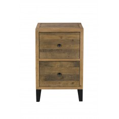 Brooklyn Industrial 2 Drawer Filing Cabinet