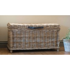 Kubu Rattan Blanket Box - Medium
