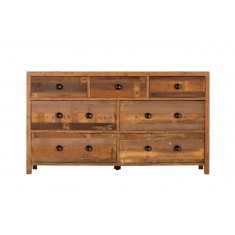 Brooklyn Industrial 7 Drawer Wide Chest