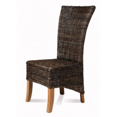 Magdalena Rattan Dining Chair - Light Leg