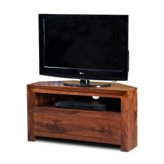 Mandir Sheesham Small Corner TV Unit
