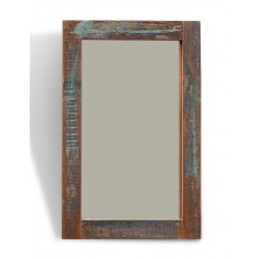 Reclaimed Indian Wood Mirror