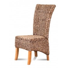 Rosanna Rattan Dining Chair - Light Leg