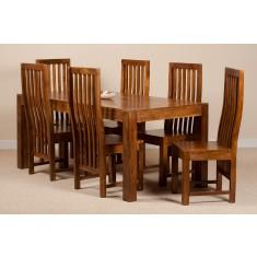 Dakota Mango 6 Seater Dining Set