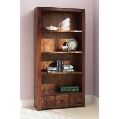 Dakota Mango Tall Bookcase