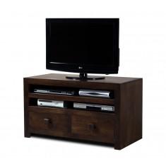 Dakota Dark Mango Medium 2-Drawer TV Unit