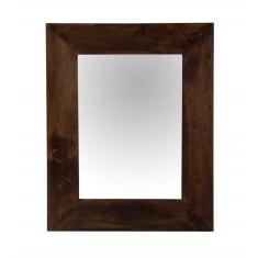 Dakota Dark Mango Wall Mirror (Small)