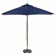 Sturdi PLUS 3m FSC Wood Parasol - Navy Blue
