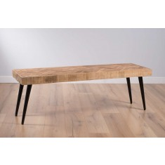 Urban Industrial Mango Dining Bench