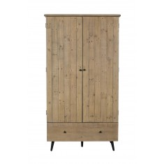 Seville Reclaimed Double Wardrobe