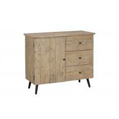 Seville Reclaimed Modern Narrow Sideboard